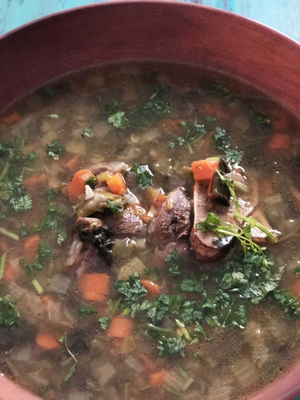 Yakhni Soup